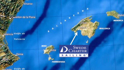 Karta Nordostra Spanien.Karta Over Alla Kanarieoarna